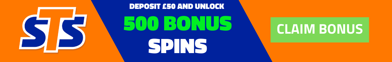 sts no deposit bonus code